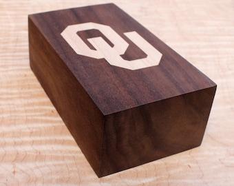 University of Oklahoma Pen Holder, Desk Organizer