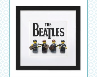 LEGO BEATLES - Customised Mini Figures to look like the Beatles - Unique gift for any fan of the fab four