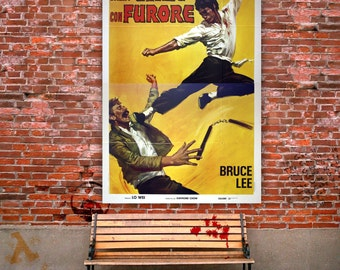 Original Movie Posters  The Chinese Connection, Bruce Lee 140x200 CM