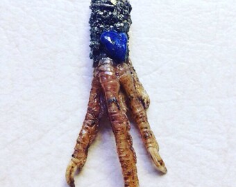 Chicken Foot Pendant/ Protection Charm
