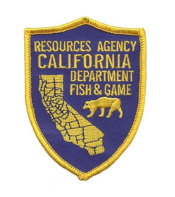 California department of fish and game patch resources for California department of fish and game
