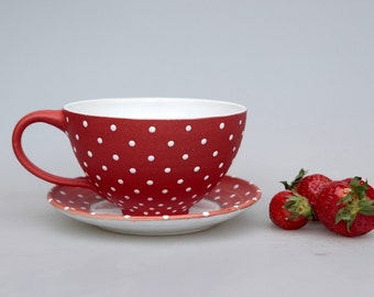 Strawberry cup red
