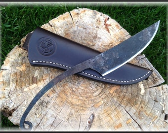 Hand Forged Camp Trade Knife 1095 High Carbon Steel
