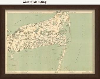 0391-Chatham Map - 1891