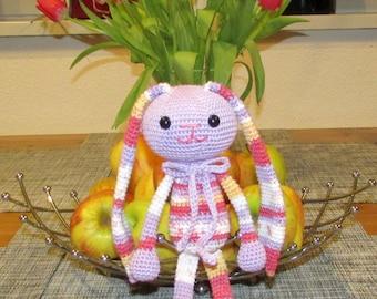 Crochet, toy, amigurumi, handmade, a rabbit