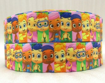 Bubble Guppies 1 inch Ribbon by the yard