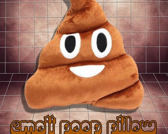 "EMOJI - ""POO"" Pillow"