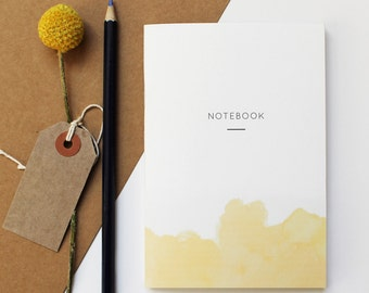 NOTEBOOK WATERCOLOR YELLOW