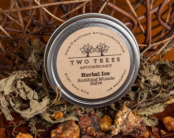 Chinese Herbal Soothing Muscle Salve