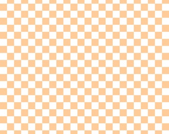 Peach Checkered Cardstock Paper