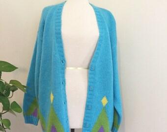 Vintage 1990s Tipi Blue Sweater