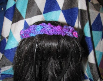Crocheted Hair Piece