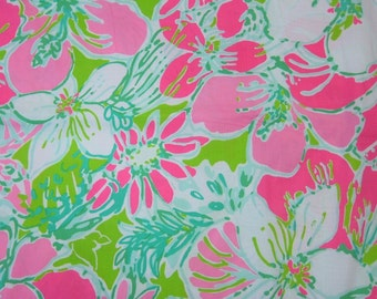 Lilly Pulitzer Fabric Cluck Cotton Poplin