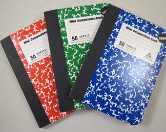 Mini Notebooks 3 Pack