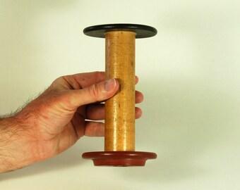 Vintage Wooden Bobbin (Weaving collectibles)