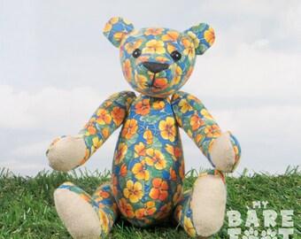 Artist Teddy Bear 'Suzy' OOAK hand crafted - My Bear Foot Bears