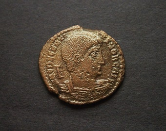 Roman Coin - Decentius (AE2) Authentic, ancient Coin
