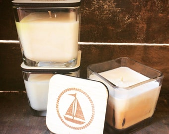 Square Soy Candle