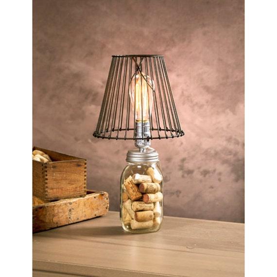 Mason Jar Lamp Kit / Light / DIY Mason Jar Lamp / Lighting