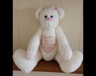 Beautiful handmade bear