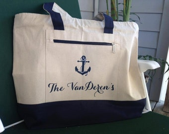 Canvas Tote Bag (Personalized)