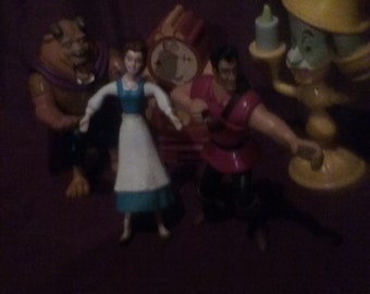 Beauty and the Beast Figurines