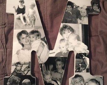 Customizable Letter Picture Collage