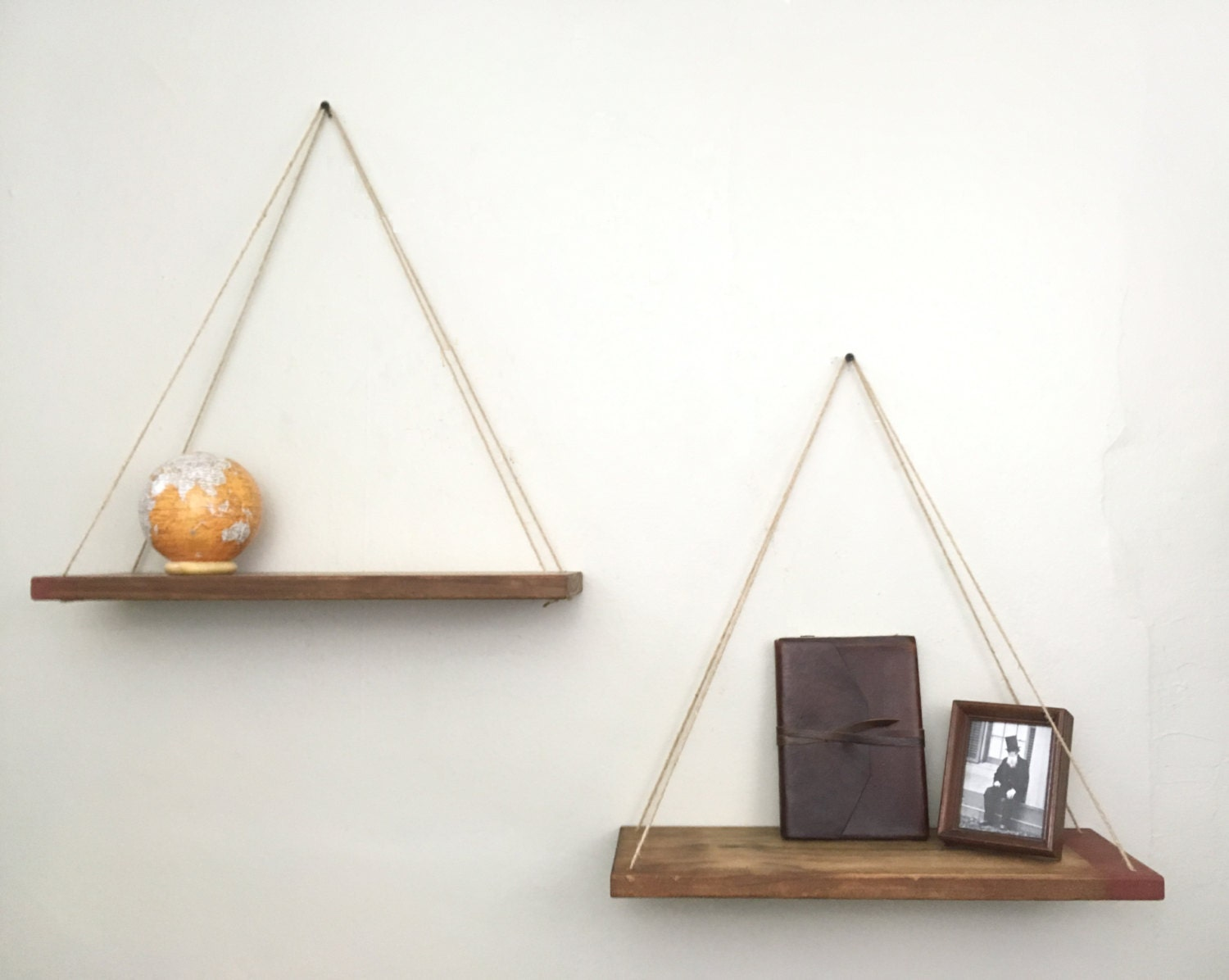 Hanging shelves Hanging planter shelves wall planter wall