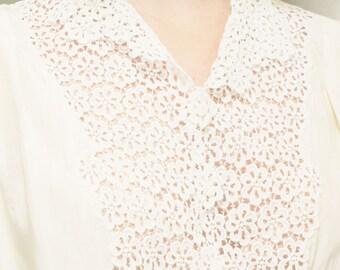 Vintage seventies silk shirt