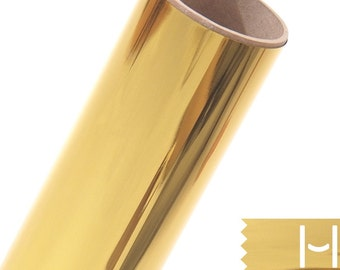 Heat Transfer Foil Film, 12x8 inch -Gold foil for screen printing 5pc foil