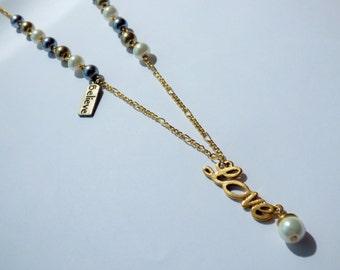 Multicolor Love Pearls Necklace CO020