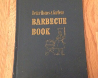 1958 Better Homes & Garden Barbeque Book