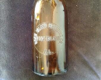 Rock Island ILL bottle