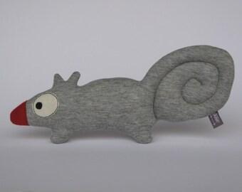 squirrel toy,scoiattolo stoffa,plush squirrel,regalo bambin,scoiattolo pupazzo,handmade squirrel,kid gift,child gift,woodland toy,kid toy