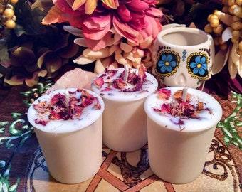 Goddess Branwyn Soy Wax Votives Candle Branwen Love Beauty