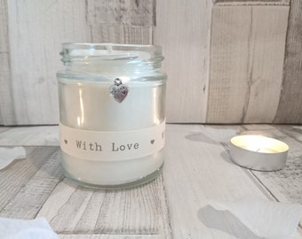 Thank You (with love) Scented Soy Candle