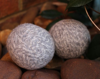 Wool Dryer Balls 2 Pack - to naturally refresh clothes