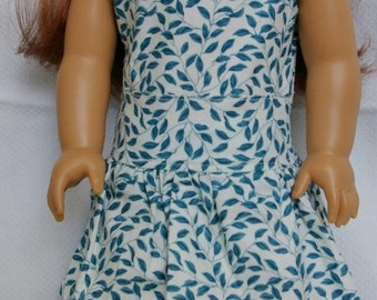"18"" American Girl Doll Pintuck-Skirted Dress"