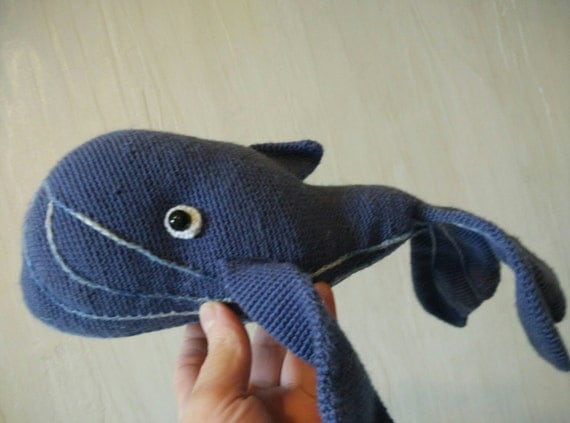 Items similar to Blue whale. Knitted toy. Amigurumi. Plush whale. Gift for ch...