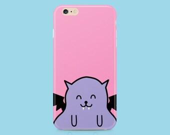 BAT iPhone 6 case, iPhone 6s case, iPhone 6 plus case, iPhone se case, iPhone 5 case, iPhone 5s case, iPhone 5c case, creepy cute, kawaii