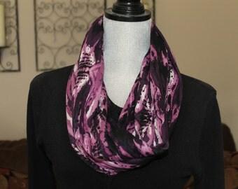 Tribal print Infinity scarf