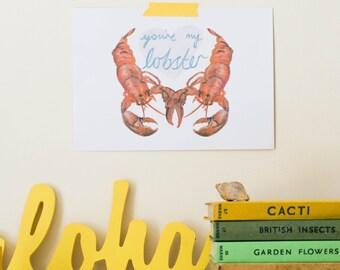 Lobster Lovers Print - FRIENDS
