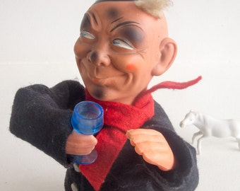 Vintage drinking man toy made in the GDR