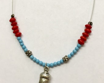 Alecah buddha necklace