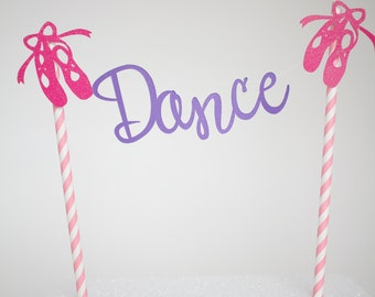 Dance Cake Bunting- Just Dance Cake Topper
