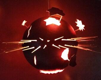 Apocalyptic Globe - Exploding World Lamp - FREE SHIPPING!
