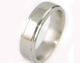 Shiny Titanium Ring