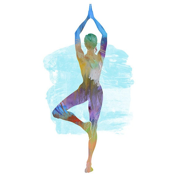 Yoga Art Photography Yoga Art TREE POSE 2 S...