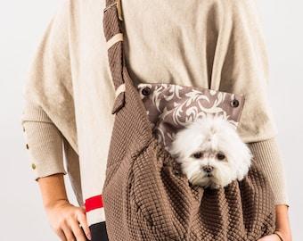 Dog sling carrier LAYLA