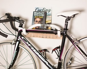 Wood Bike Rack- Reclaimed & Retro